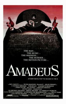 Amadeus movie poster (1984) poster MOV_c65250e6