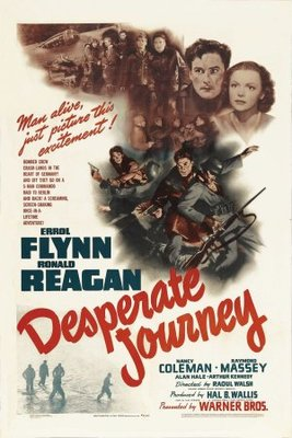 Desperate Journey movie poster (1942) poster MOV_c65358f0