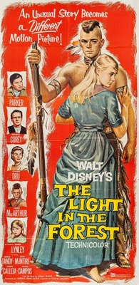 The Light in the Forest movie poster (1958) poster MOV_c68088fc