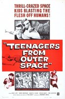 Teenagers from Outer Space movie poster (1959) picture MOV_c6b29d5c