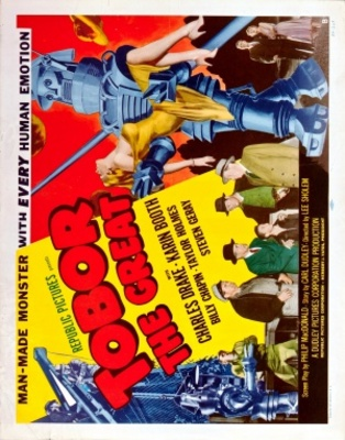 Tobor the Great movie poster (1954) poster MOV_c6b5f4d3