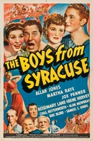 The Boys from Syracuse movie poster (1940) picture MOV_c6c5b5cc
