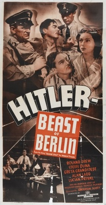 Hitler - Beast of Berlin movie poster (1939) poster MOV_c6d3347a