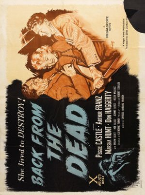 Back from the Dead movie poster (1957) poster MOV_c6e332a8