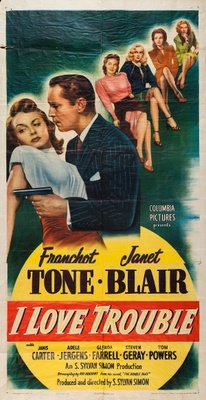 I Love Trouble movie poster (1948) poster MOV_c6f689fc
