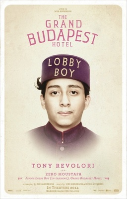 The Grand Budapest Hotel movie poster (2014) poster MOV_c71e008c