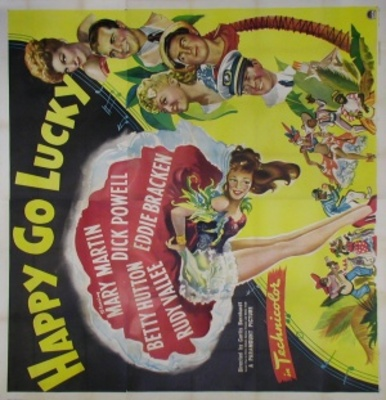 Happy Go Lucky movie poster (1943) poster MOV_c721701e
