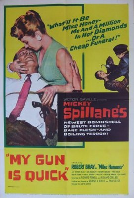 My Gun Is Quick movie poster (1957) poster MOV_c737c365