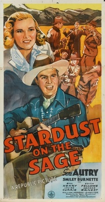Stardust on the Sage movie poster (1942) poster MOV_c73c4367
