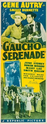 Gaucho Serenade movie poster (1940) poster MOV_c7769134