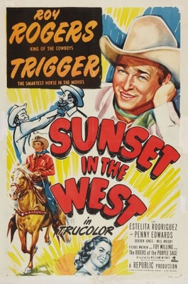 Sunset in the West movie poster (1950) poster MOV_c78556fe