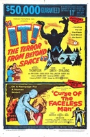 Curse of the Faceless Man movie poster (1958) picture MOV_c78f52d9