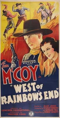 West of Rainbow's End movie poster (1938) poster MOV_c7941616