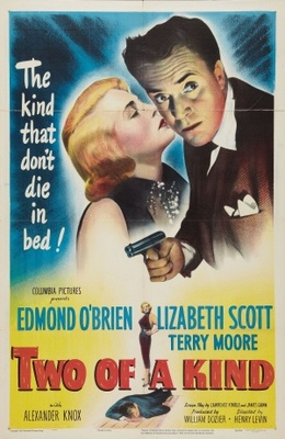 Two of a Kind movie poster (1951) poster MOV_c7ab09e4