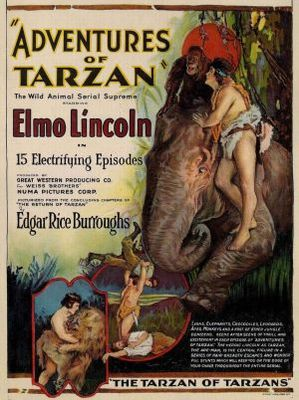 The Adventures of Tarzan movie poster (1921) poster MOV_c7d5aab4