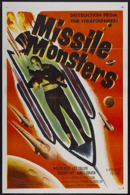 Missile Monsters movie poster (1958) poster MOV_c7f1e084
