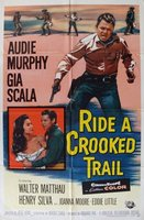 Ride a Crooked Trail movie poster (1958) picture MOV_c8284a50