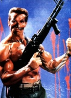 Commando movie poster (1985) picture MOV_b5930d06