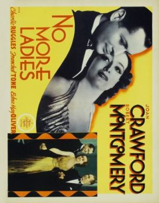 No More Ladies movie poster (1935) poster MOV_c82eb144