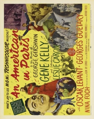 An American in Paris movie poster (1951) poster MOV_c833c4b7