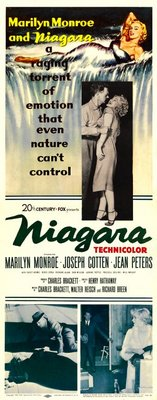 Niagara movie poster (1953) poster MOV_c8560112