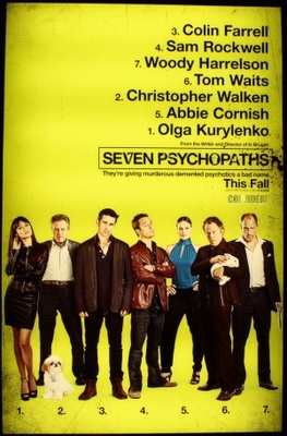 Seven Psychopaths movie poster (2012) poster MOV_c8584f83