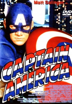 Captain America movie poster (1991) poster MOV_c8653f6e