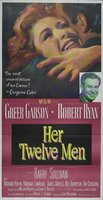 Her Twelve Men movie poster (1954) picture MOV_c87d9d98