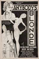 Anybody's Blonde movie poster (1931) picture MOV_c8871442