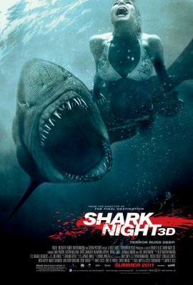 Shark Night 3D movie poster (2011) poster MOV_c89f7f5e