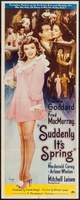 Suddenly, It's Spring movie poster (1947) picture MOV_c89ff7dd