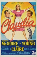 Claudia movie poster (1943) picture MOV_c8b884db