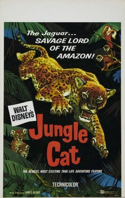 Jungle Cat movie poster (1959) poster MOV_c8bb3327
