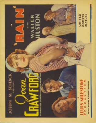 Rain movie poster (1932) poster MOV_c8c6b396