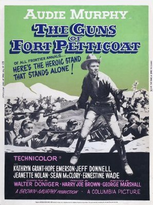 The Guns of Fort Petticoat movie poster (1957) poster MOV_c8eaacba
