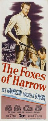 The Foxes of Harrow movie poster (1947) poster MOV_c8f78200