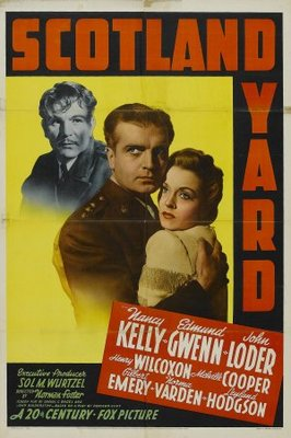 Scotland Yard movie poster (1941) poster MOV_c8fb74e6
