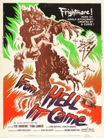 From Hell It Came movie poster (1957) picture MOV_c90cb335