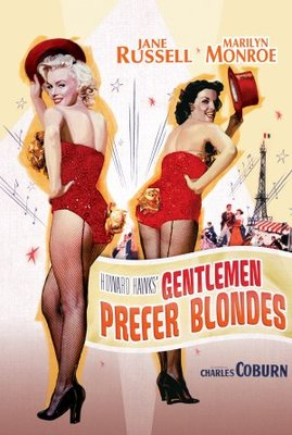 Gentlemen Prefer Blondes movie poster (1953) poster MOV_c9136ddd