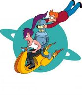 Futurama movie poster (1999) picture MOV_c91490c7