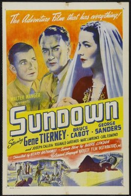 Sundown movie poster (1941) poster MOV_c9278973