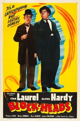 Block-Heads movie poster (1938) poster MOV_c9321fb2