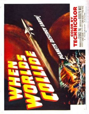 When Worlds Collide movie poster (1951) poster MOV_c93e5f79