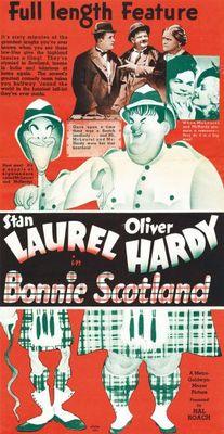 Bonnie Scotland movie poster (1935) poster MOV_c944bf50