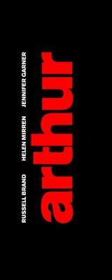 Arthur movie poster (2011) poster MOV_c9567f79
