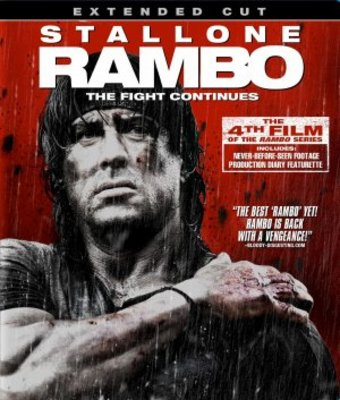Rambo movie poster (2008) poster MOV_c98a31f1