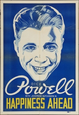 Happiness Ahead movie poster (1934) poster MOV_c9a574e9