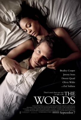 The Words movie poster (2012) poster MOV_c9a611a2