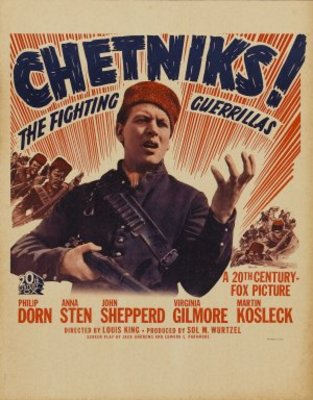 Chetniks movie poster (1943) poster MOV_c9b76b02