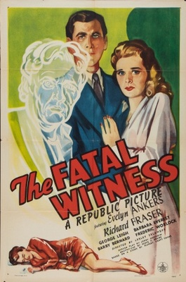 The Fatal Witness movie poster (1945) poster MOV_c9bd7c06